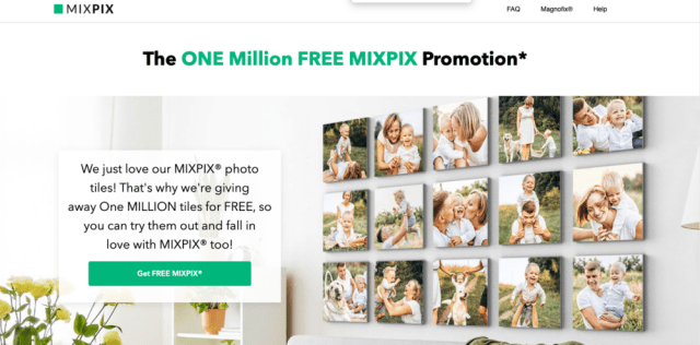 Picanova announces Magnofix hanging system, will give away 1 million photo tiles