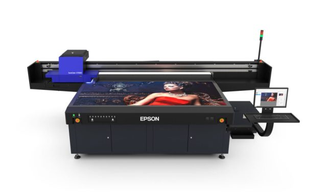 Epson debuts UV flatbed printer, SureColor-V7000