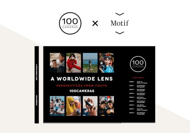Motif Photos partners with 100cameras for charitable work