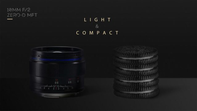 Venus Optics announces the wide-angle MFT lens for  Laowa 10mm f/2 Zero-D MFT