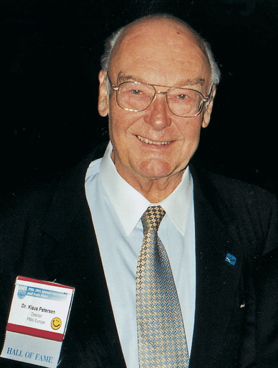 In Memoriam: Dr. Klaus Petersen