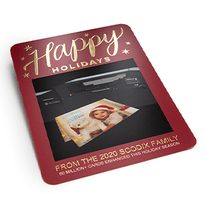 Scodix announces 50 million holiday cards were enhanced in 2020 season