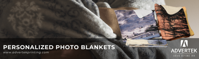 Advertek offering personalized photo blankets