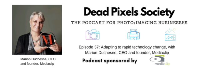 The Dead Pixels Society podcast: Adapting to rapid technology change, with Marion Duchesne, CEO and founder, Mediaclip