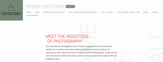 International Photography Hall of Fame announces 2021 class