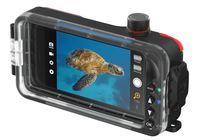 SeaLife launches Android app for SportDiver housing