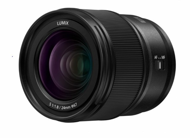 Panasonic releases compact, lightweight LUMIX S 24mm F1.8