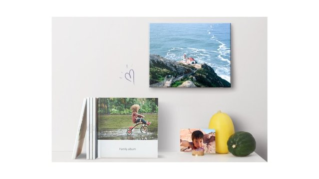 Google Photos expands print options, expands canvas offerings