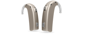 Oticon Dynamo Hearing Aid in Beige