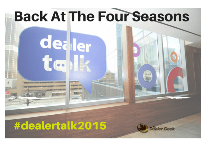 DealerTalk Four Seasons Toronto