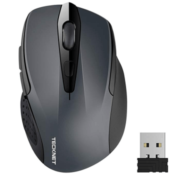 TECKNET PRO Mouse Senza Fili, 2600DPI, Durata delle batterie di 24 Mesi, 2 4G Amazon it Informatica(3)