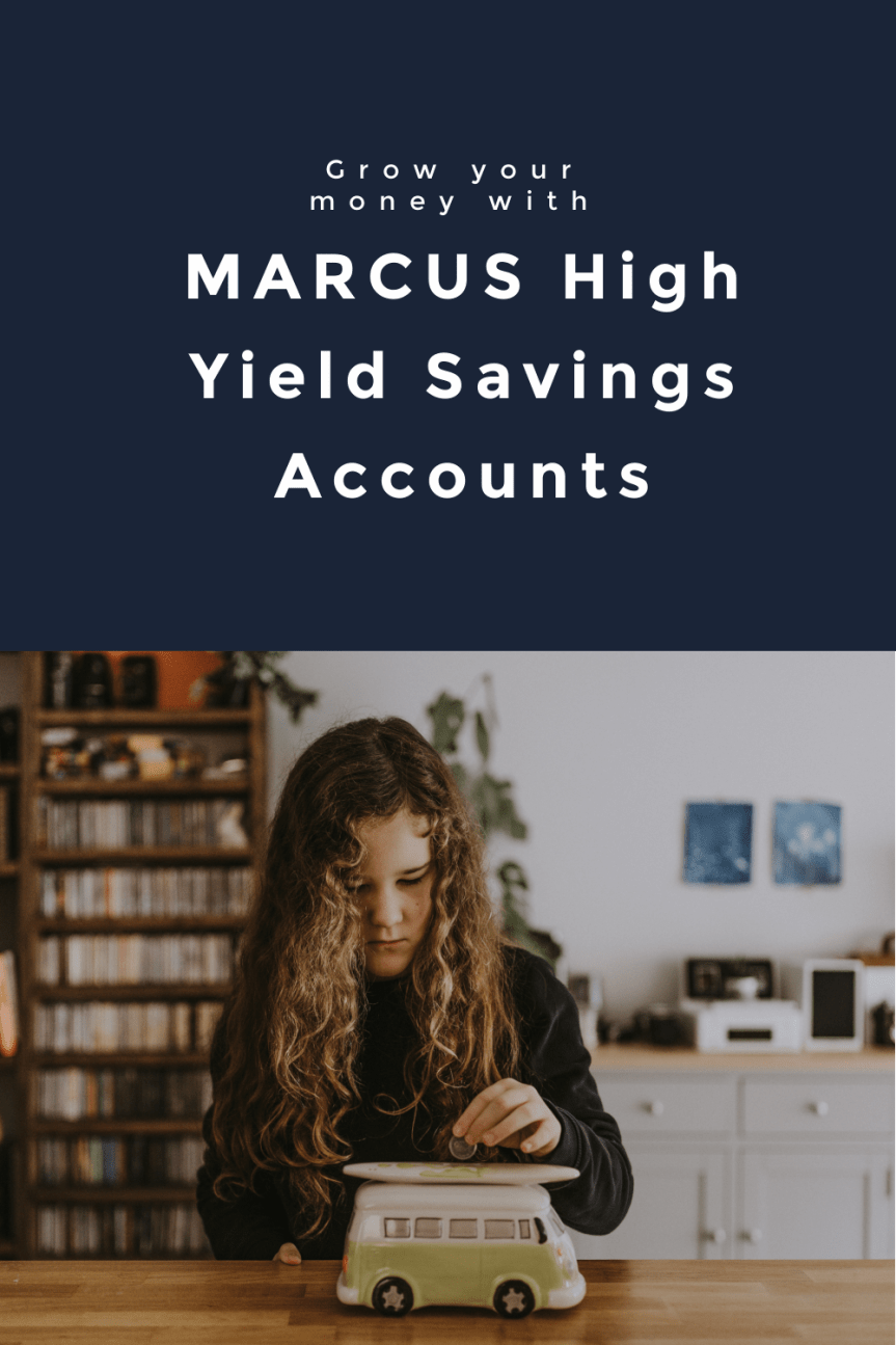 Marcus High Yield Savings Accounts 1