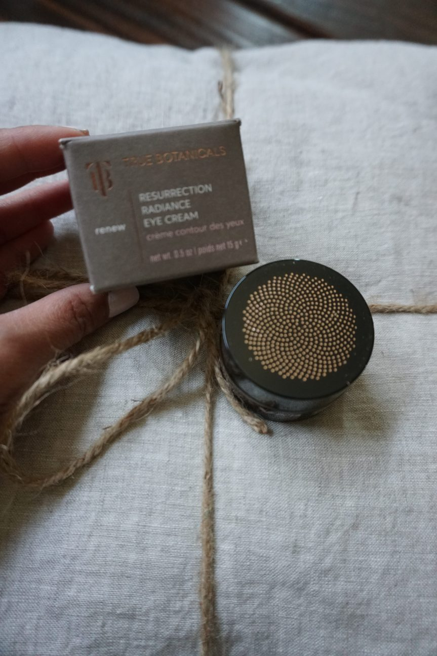 Combating Tired Eyes with True Botanicals Eye Cream