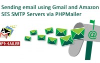 Email smtp server gmail and ses