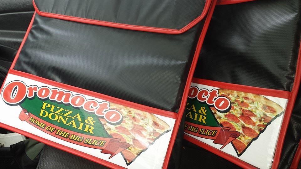 Pizza Warmer Bag Decals