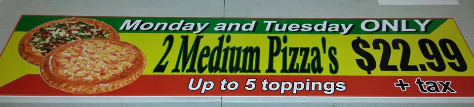 Pizza Panel Sign 2
