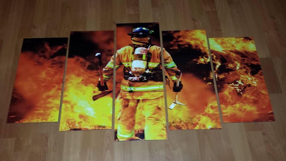 Fireman Wall Mural
