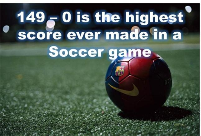 Image result for highest scored game in soccer  Nigeria vs India (1-99) match everyone talks about? Here's all you need to know about it (With Pictures) Fun Fact 59 900x608
