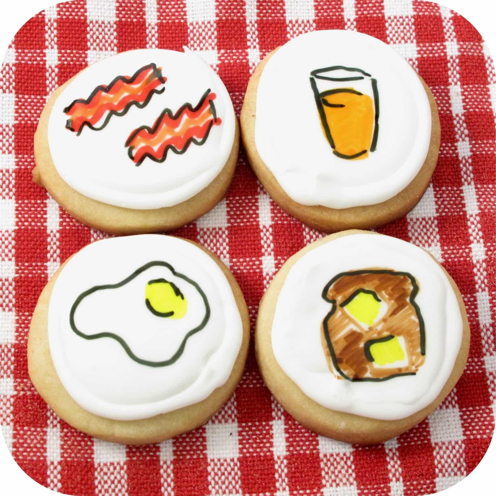 Breakfast Cookie Art
