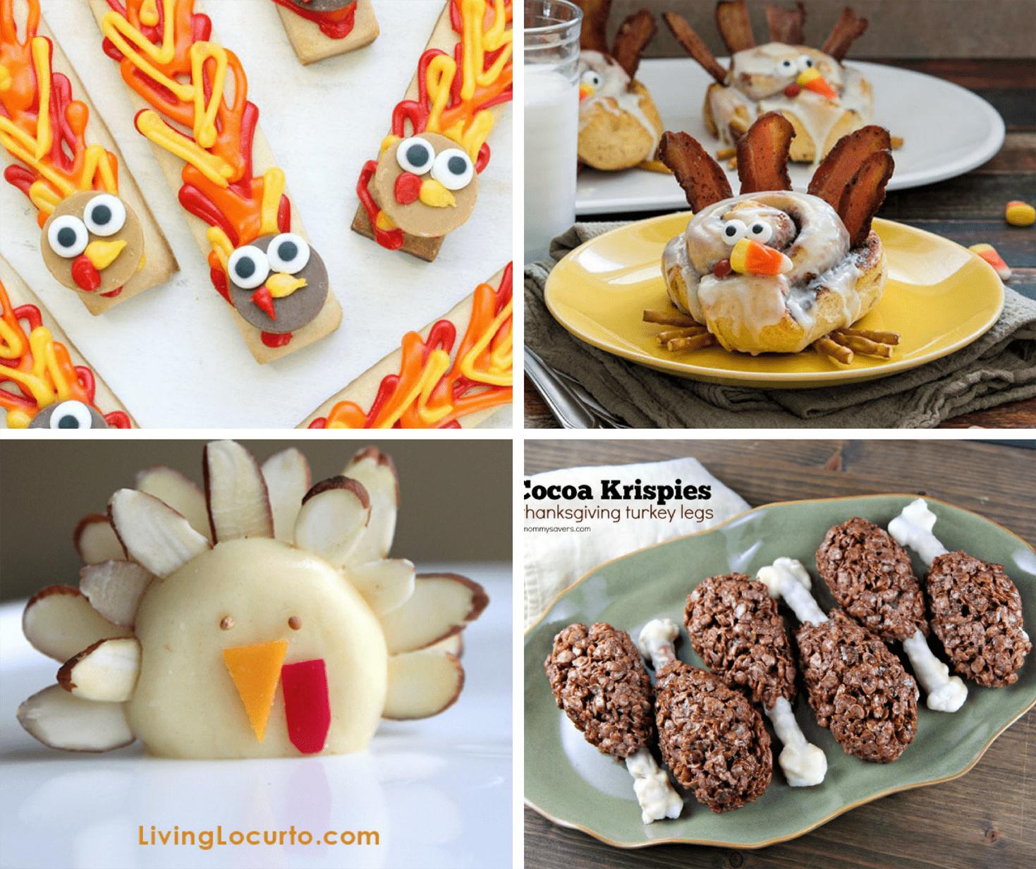 30 Thanksgiving Fun Food Ideas A Roundup Of Fun Food Crafts