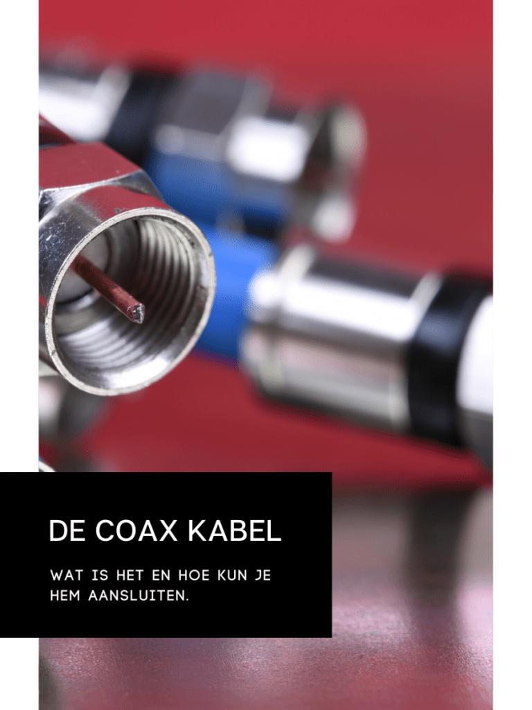 Zo kies je de juiste coax-kabel