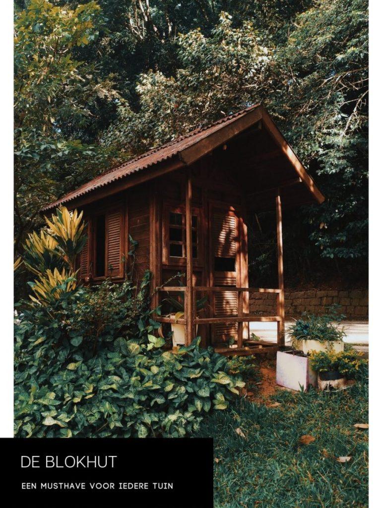 De voordelen van een blokhut in de tuin