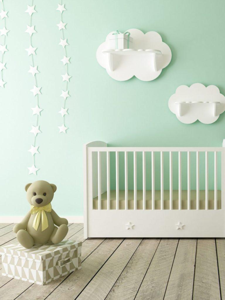 De trend van dit jaar is een ecologische babykamer