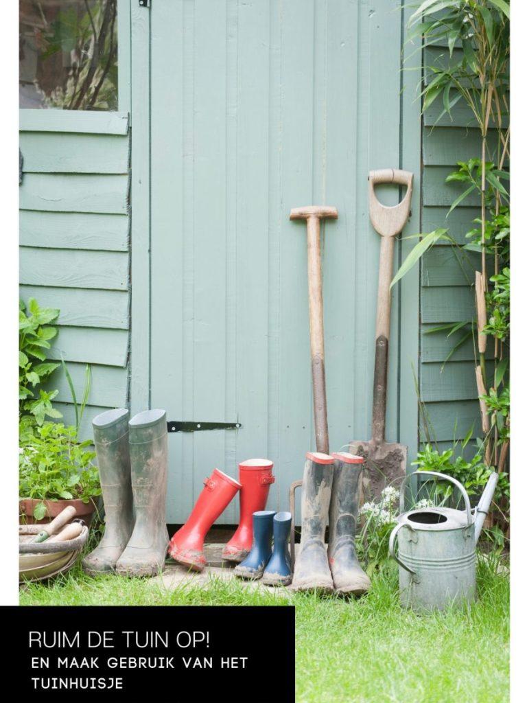 Tijd om de tuin op te ruimen!