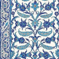 Schumacher Topkapi Peacock Wallpaper