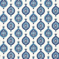 Schumacher Samovar Peacock Wallpaper