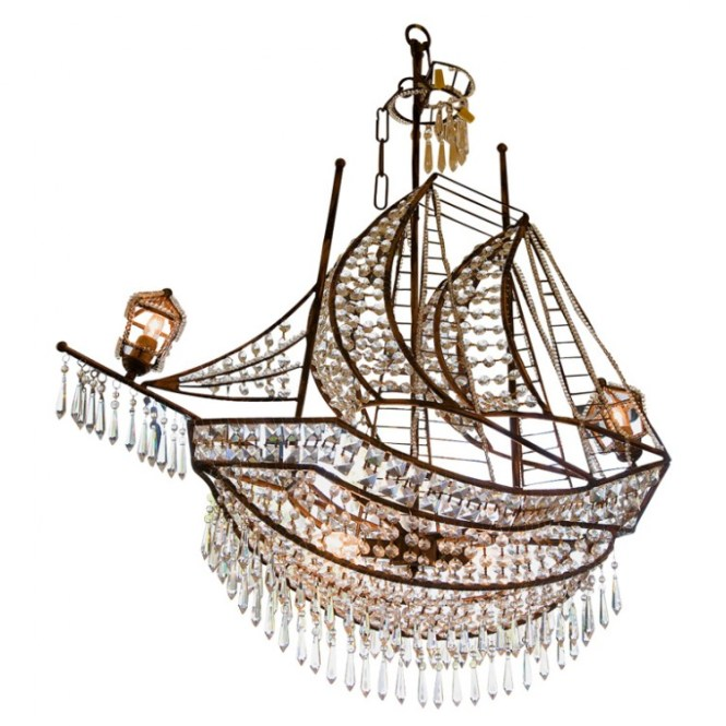 First Dibs Ship Chandelier