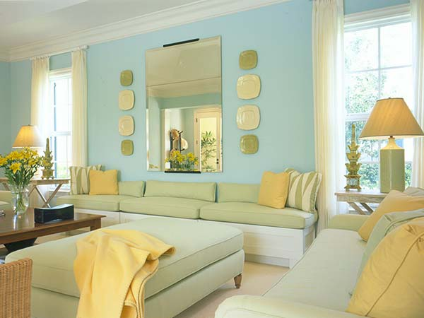 Yellow And Blue Bedroom Decorating Ideas Vintage Decor Bedrooms