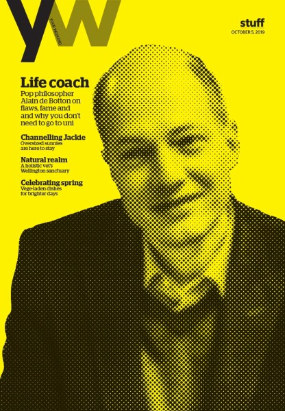 alain de botton your weekend magazine cover