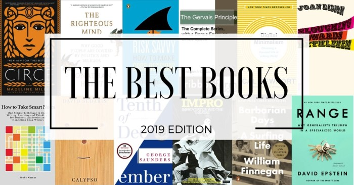 The best of the best books I read in 2019 cover image