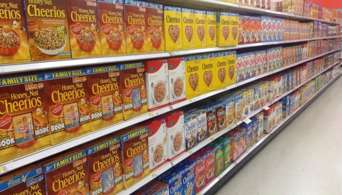 The paradox of choice: breakfast cereal edition