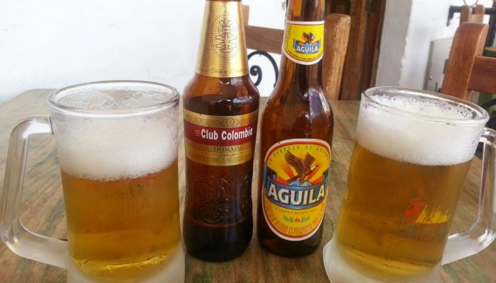 club colombia vs aguila beers
