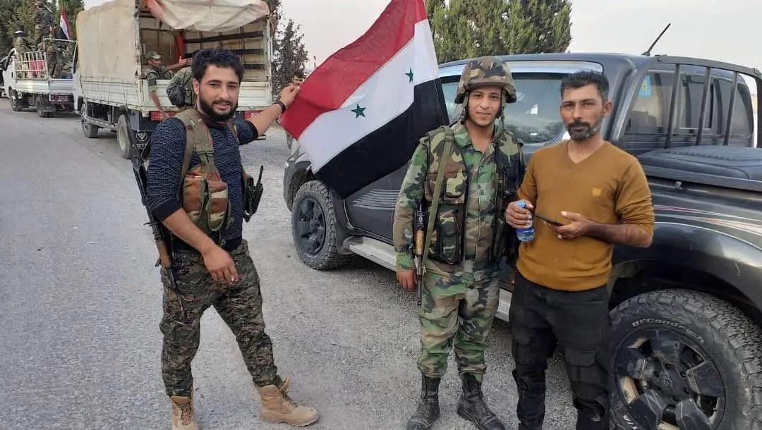 Syrian Arab Army Manbij