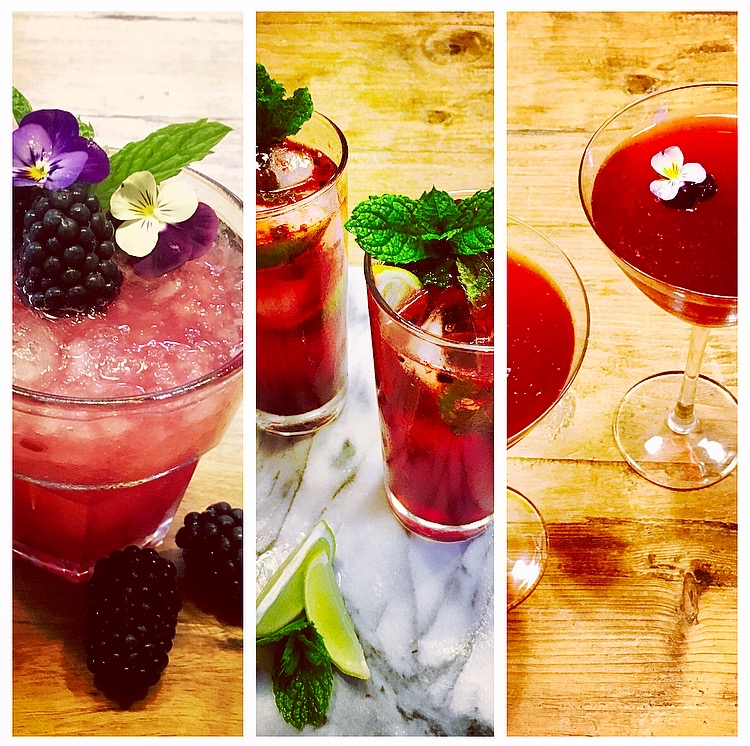Cocktails at The Delectable Garden