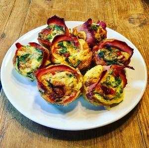 Mixed Veg Egg Muffins