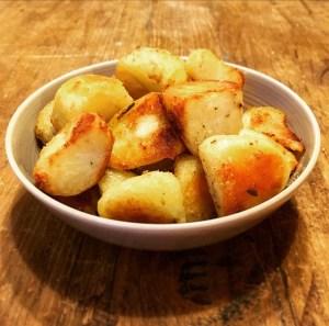 Make Ahead Christmas Roast Potatoes