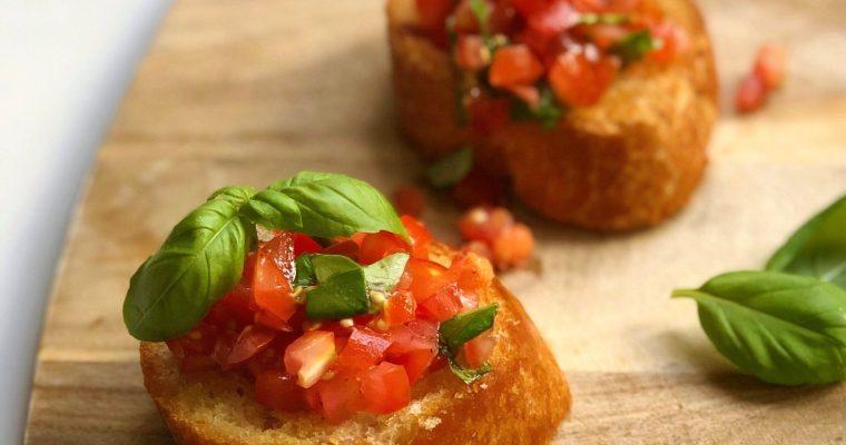 Nonna Ciana's Tuscan Tomato Bruschetta