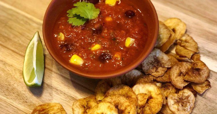 Smoky Tomato Salsa Dip