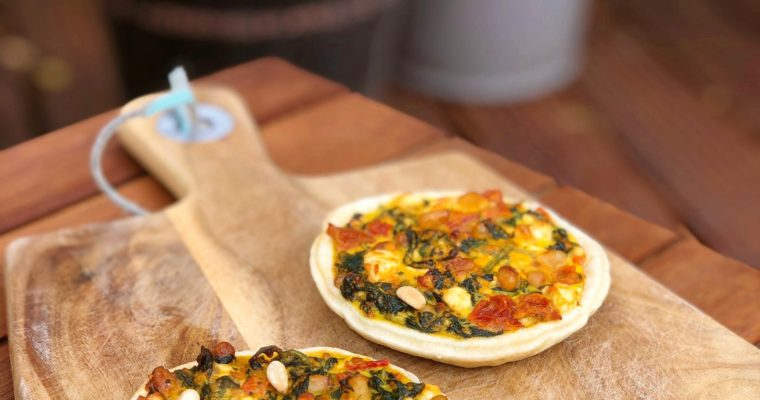 Mediterranean Spinach and Feta Tarts
