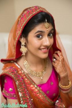 Wedding Makeup close up