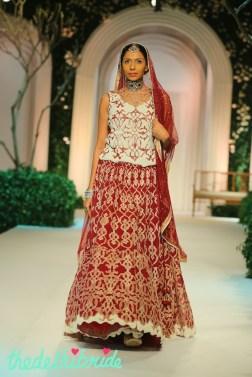 At the India Bridal Fashion Week - Models in Meera Muzaffar Ali 4