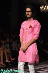 Baby pink done right for men