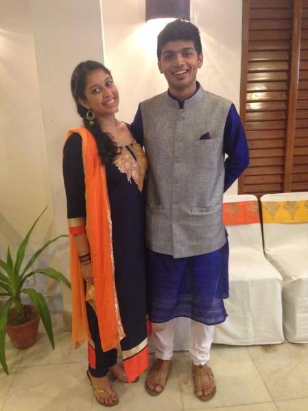 TDB Wedding Guest Style blue Indian wear