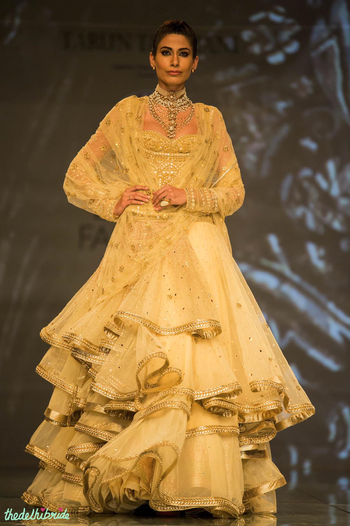 Tarun Tahiliani At India Bridal Fashion Week 2014 An
