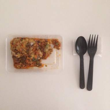 Day 3 open box Chicken & Mushroom lasagna with ricotta | Eatonomist review #FitwithTDB healthy food in Gurgaon