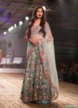 Winter Sky 3D Floral Aplique Lehenga - Monisha Jaising - Amazon India Couture Week 2015 .jpg